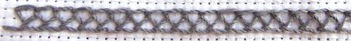 Closed Feather Stitch