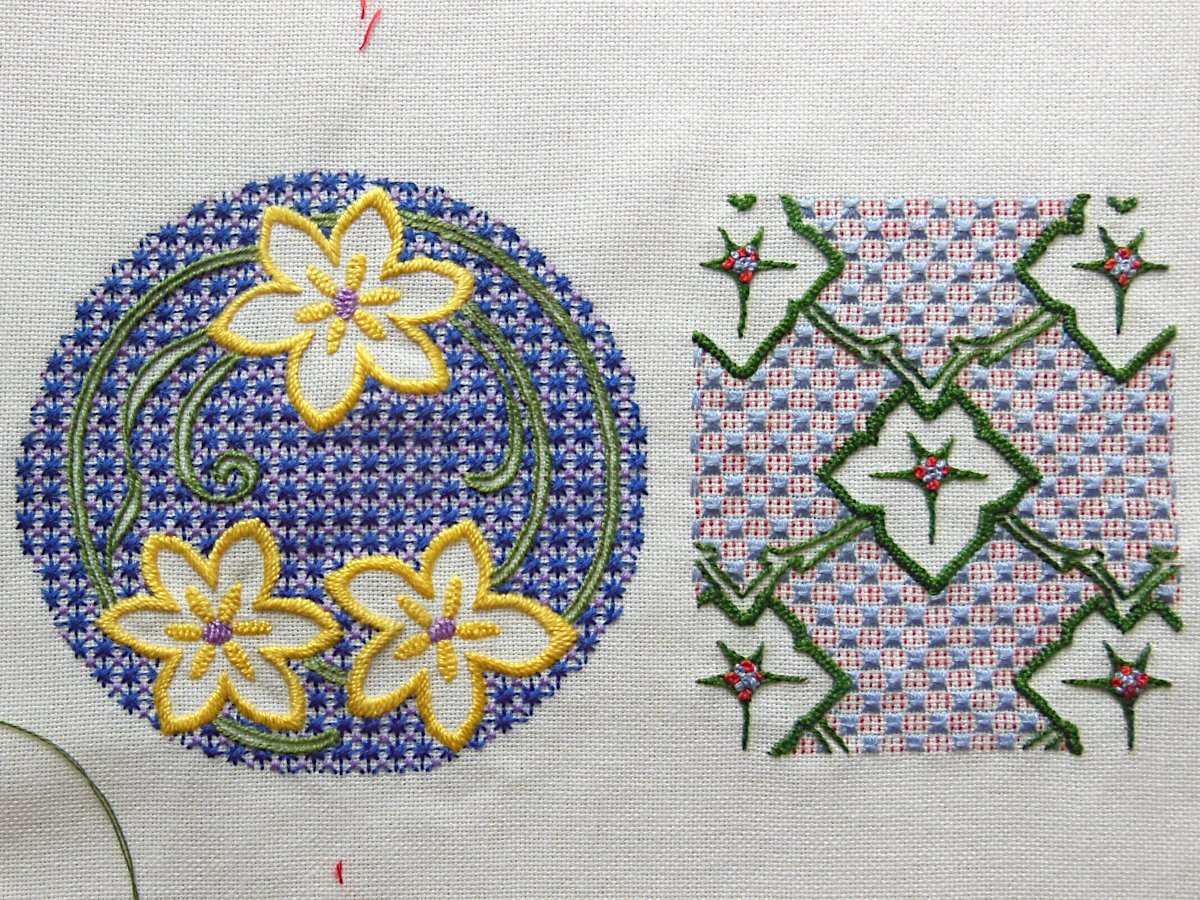 First Two Motifs Finished