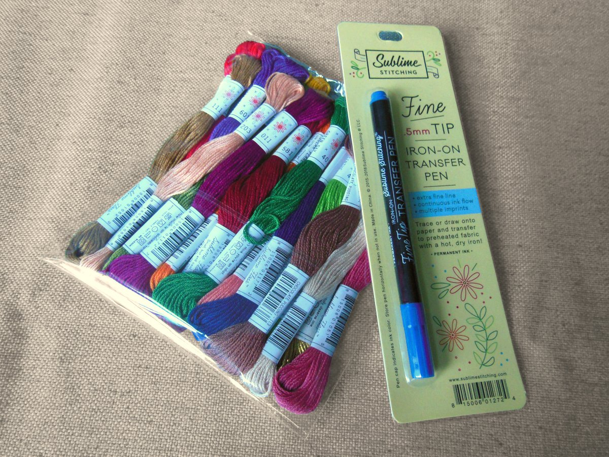 Sublime Stitching Fine Tip Iron-on Transfer Pen & Floss
