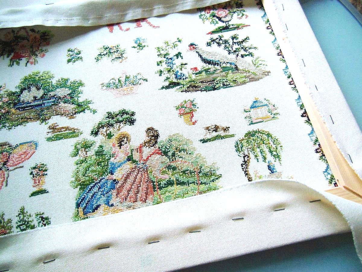 Embroidery, Framing, Stretcher Frame