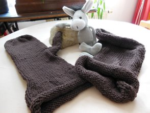 Knitted Mittens - Last Attempt
