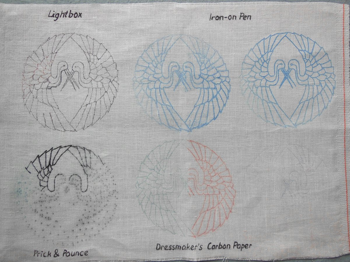 Embroidery, Design Transfer